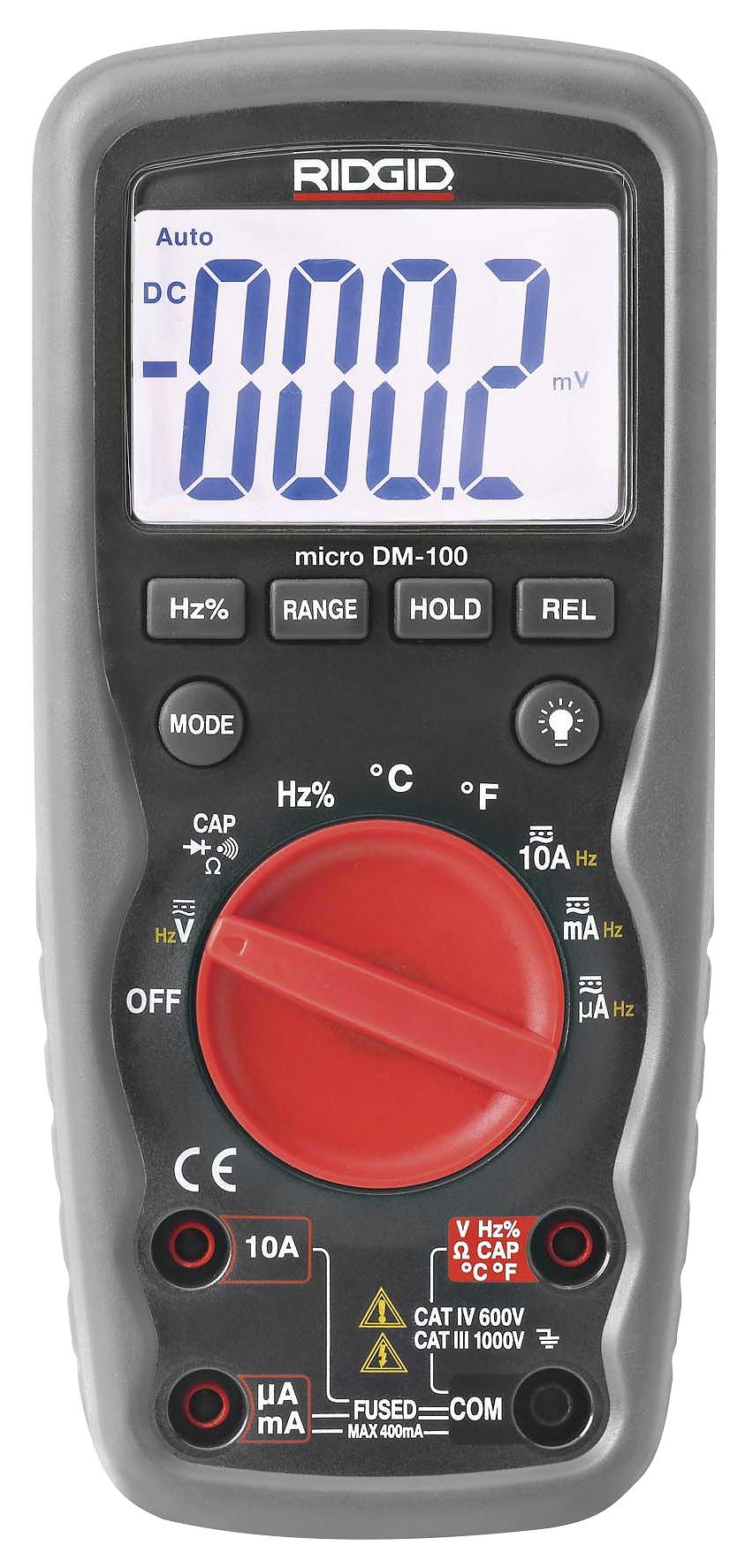 Rigid MULTIMETER DIG. DM-100 37423