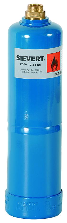GASSFLASKE 2000-60