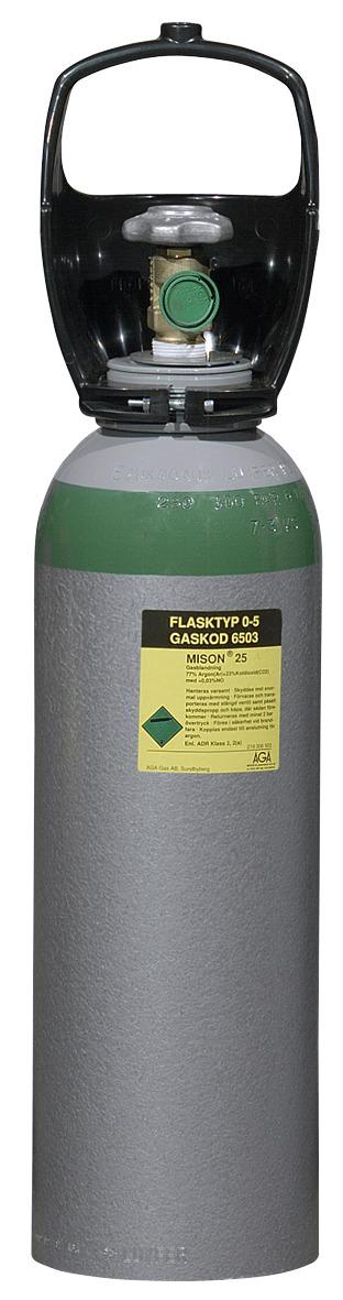 GASSFLASKE OTC-5 NITROGEN
