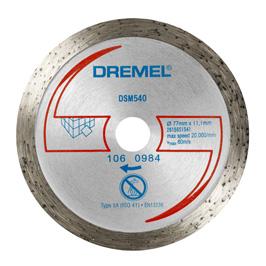 Dremel® DSM20 diamant-fliskutteskive