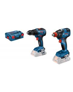 Bosch Combo-Kit GDX 18V-200 + GSR 18V-55 i L-BOXX