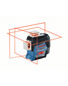 BOSCH Linjelaser GLL 3-80 C med batteri & tilbehørssett
