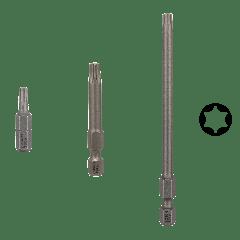BOSCH EXTRA HARD SKRUTREKKERBITS (T40) (3 LENGDE TYPER) verktøy.no