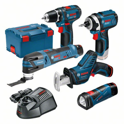 Bosch 5-pakning 12V for profesjonelle verktøy.no