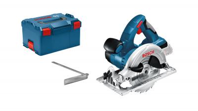 Bosch 18V sirkelsag GKS 18 V-LI i L-BOXX uten batteri & lader verktøy.no