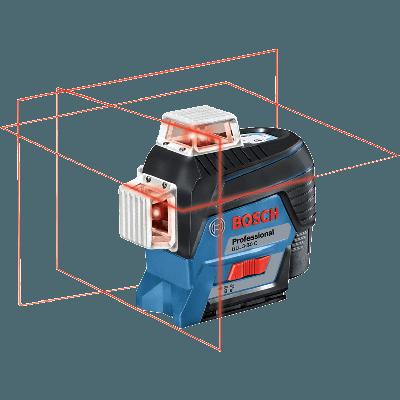 Bosch linjelaser GLL 3-80 C Professional verktøy.no