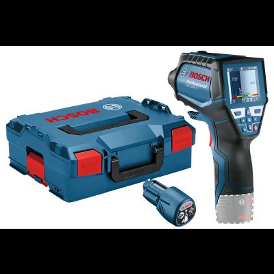 Bosch Termodetektor GIS 1000 C med 4 x 1,5V LR6 batterier (AA) & alkaliske adapter verktøy.no