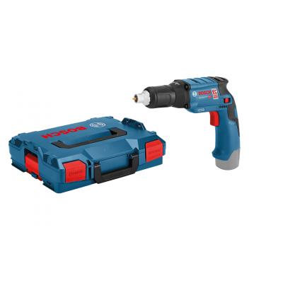 Bosch skrumaskin for gipsplater GTB 12V-11 Solo i L-BOXX med 1 x skrutrekkerbit PH2 verktøy.no