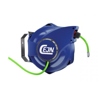 "CEJN Slangetrommel 1/4"" R luft tett modell Hi-Vis verktøy.no"