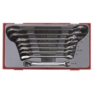 Teng Tools TT6508R kombinasjonsskrallenøkkelsett verktøy.no