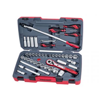 Teng Tools Pipenøkkelsett 44 deler T1244