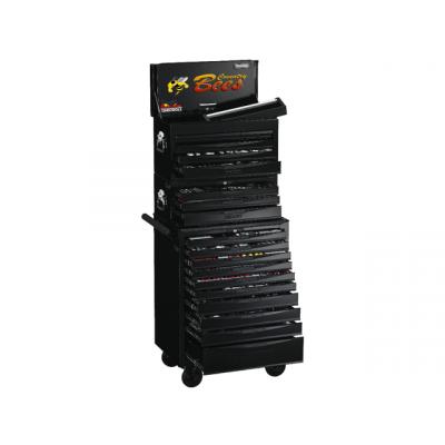 Teng Tools Verktøyvogn med 1001 Deler TCMM1001BK