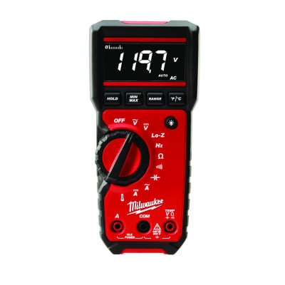 Milwaukee digital multimeter 2217-40 verktøy.no
