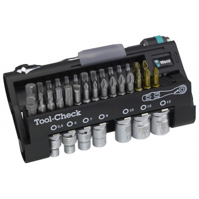 Wera bitssett Tool-Check verktøy.no