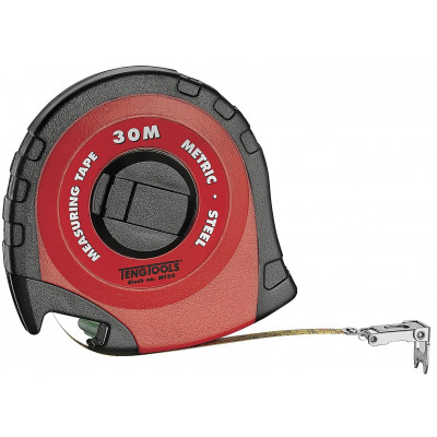 Stålmålebånd i kapsel Teng Tools MT30
