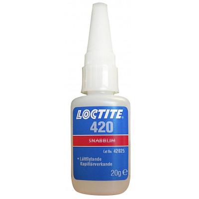 LOCTITE 420 BO20G DK/NO