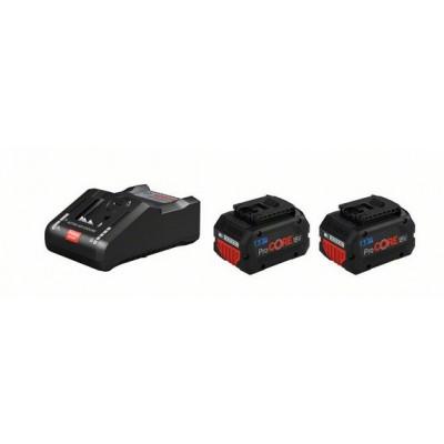 Bosch startsett 2 stk. ProCORE18V 8.0Ah + GAL 18V-160 C verktøy.no