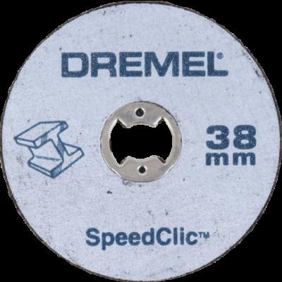 DREMEL® EZ SPEEDCLIC MERALLKUTTESKIVER PAKKE MED 12 STK (SC456B)