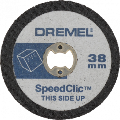 DREMEL® EZ SPEEDCLIC KUTTESKIVER FOR PLAST (SC476)