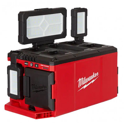 Milwaukee 18V PACKOUT™ Områdebelysning / Lader POALC