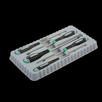 BAHCO ERGO™ skrutrekkersett for TORX®-skruer med gummigrep - 5 stk. BE-9885 Verktøy.no
