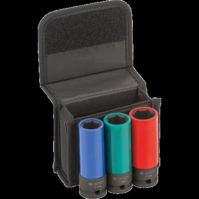 Bosch Impact Control hylsesett for hjulskift verktøy.no