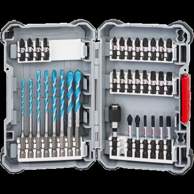 Bosch Impact Control MultiConstruction og skrutrekkerbits, sett 35 stk