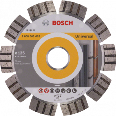 BOSCH Diamantkappeskive Best for Universal and Metal