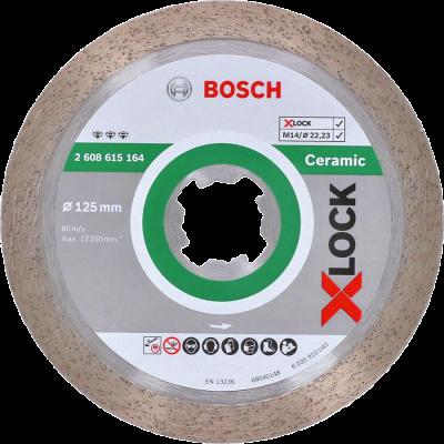 Bosch Best for Ceramic diamantkappeskiver-125