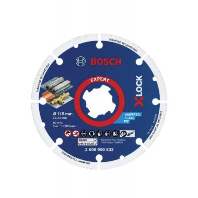 Bosch X-LOCK diamant metall kappeskiver verktøy.no
