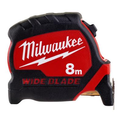 Milwaukee Premium Bred Målebånd 8M