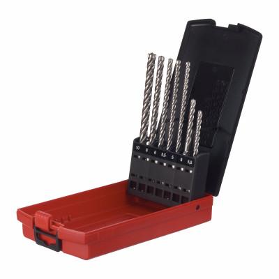 Milwaukee SDS-Plus MX4 Bor - 4 Skjær EL drill bits sett 7pk Verktøy.no
