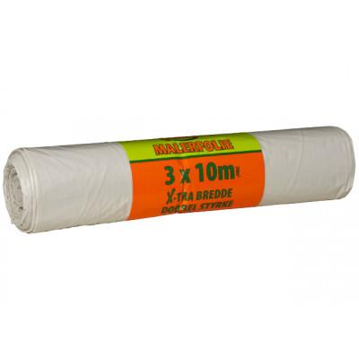 Dekkfolie IZI ekstra sterk og bred malerfolie 3Mx10M