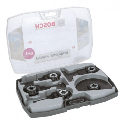 BOSCH Starlock Best for wood-sett, 7 deler
