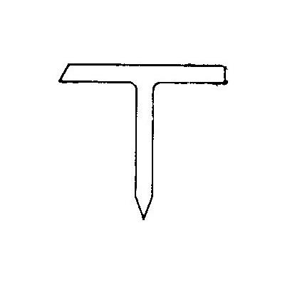 STIFT PLAST T-12 HARD