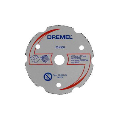 DREMEL® DSM20 UNIVERSAL HARDMETALLKUTTESKIVE (DSM500)