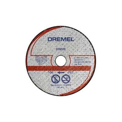 DREMEL® DSM20 KUTTESKIVE FOR MUR (DSM520)