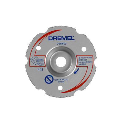 DREMEL® DSM20 UNIVERSAL HARDMETALLKUTTESKIVE FOR GLATTE KUTT (DSM600)