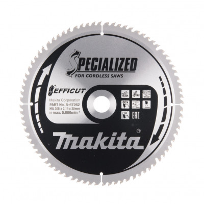 Makita Sirkelsagblad EFFICUT 305X30X80T B-67262