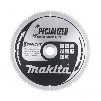 Makita Sirkelsagblad EFFICUT 305X30X100T B-67278