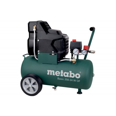 Metabo Basic 250-24 W OF kompressor Verktøy.no