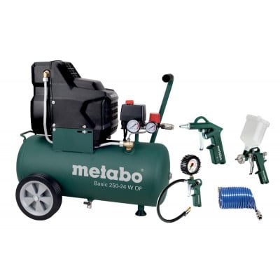 Metabo Kompressor pk Basic 250-24 W OF sett
