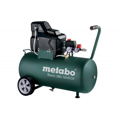 Metabo kompressor Basic 280-50 W OF verktøy.no