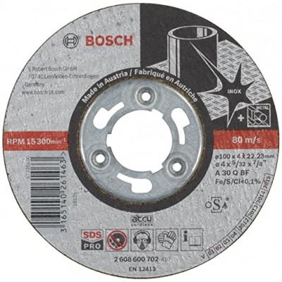 BOSCH Inox slipeskive 100x4x22,23