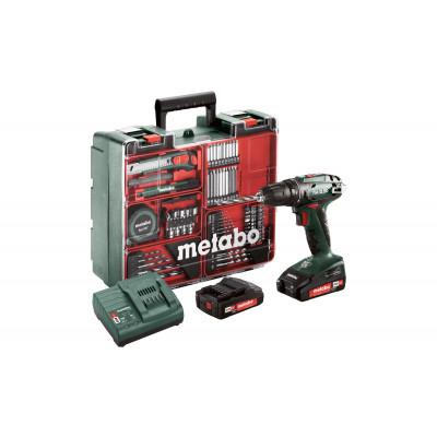 Metabo Bor-Skrutrekker BS 18V 2x2 Ah 64sett