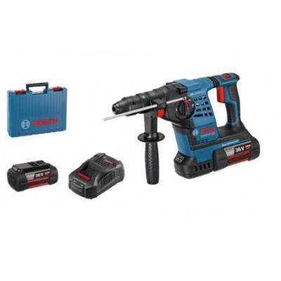 Bosch Batteridrevet borhammer med SDS plus GBH 36 V-LI Plus