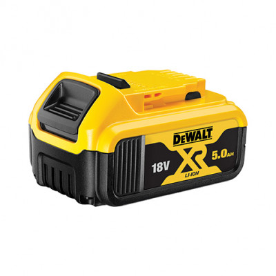 DeWalt Batteri 18V 5Ah XR Li-Ion DCB184 verktøy.no