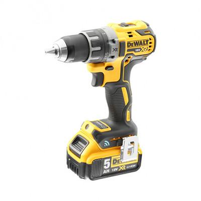 DeWalt Drill 18V XR Compact børsteløs 5,0 Ah - Tool Connect