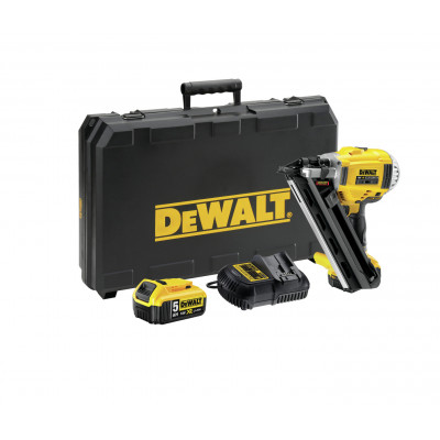 DeWalt spikerpistol 18V DCN692P2 i koffert med batteri & lader (5Ah) verktøy.no