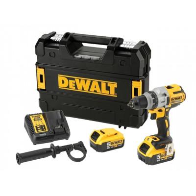 DeWalt Drill Premium XR 18V Li-Ion børsteløs DCD991P2 18V 2x5.5Ah